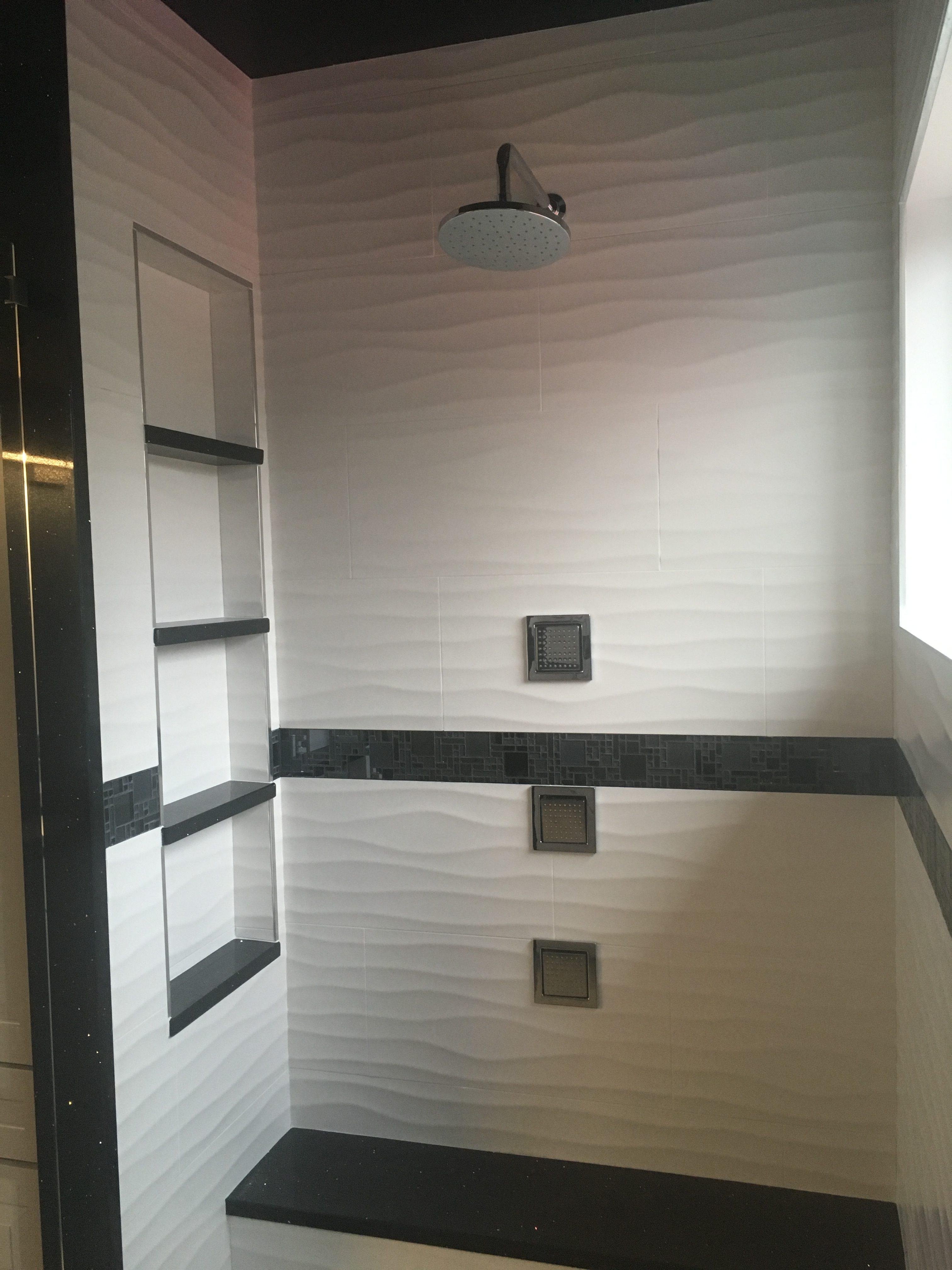 Custom Shower glass decor